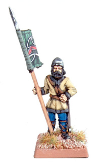 statue of toy standard bearer