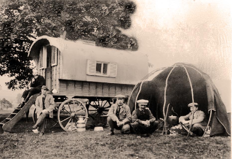 Romany Vardo of the English Gypsies