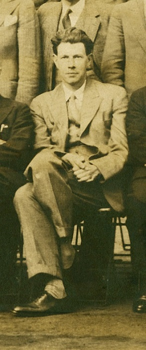 Photograph of Lionel Robbins (1929)