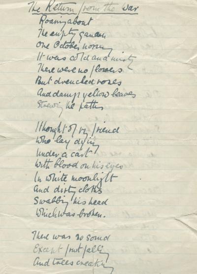 Poem by Robbins