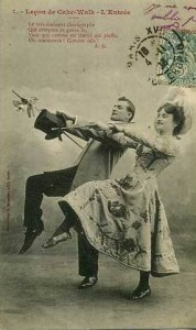 Image of couple dancing, 1900s.