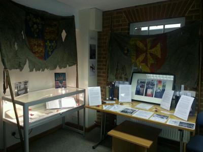 Photo of exhibition on Henry V