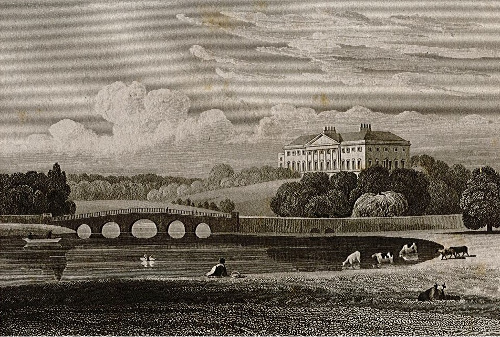 Engraving of Nostell Priory