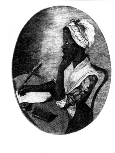 Photocopy of a Phillis Wheatley Portrait