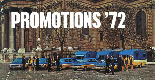 Image of Barclaycard 1972 promotions