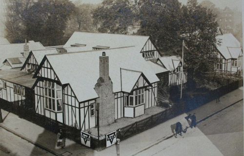 Photograph of Shakespeare Hut aerial view