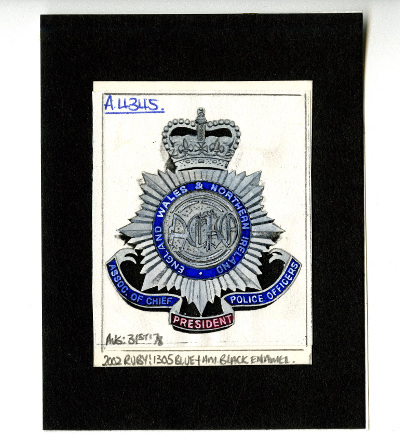 U DPO/1/2/19a – artist's impression of a medal for past presidents, 1978.