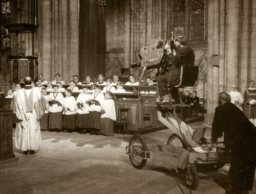 TV broadcast from York Minster