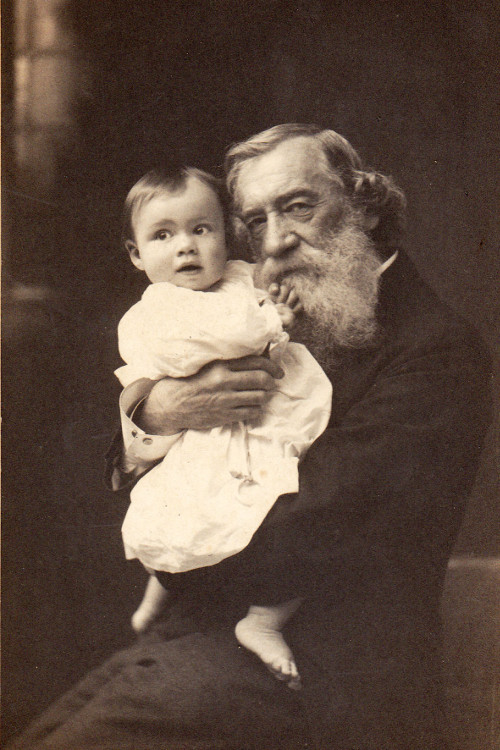 Moncure Conway and a baby