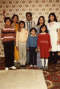 Family photograph, Ahmed third from left (GB3228.19.6.1)