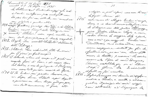 Extracts from the diary of Adjutant Raffaelo Batelli, 1895-1896