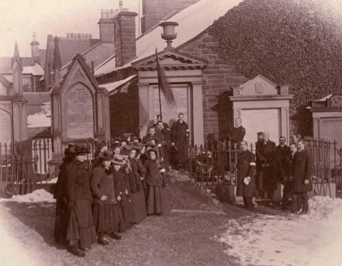 Funeral of Major John Gordon, Edinburgh, 1902