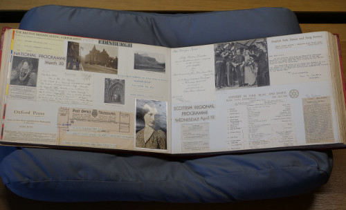 Holst's scrapbook, 1932-1934 (ref no. HOL/2/7/6)
