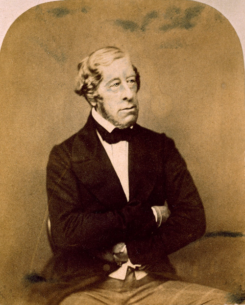 Photograph of the 6th Duke dating from c.1852.