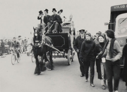 MS310/23 A1048 Rag day procession, 1957