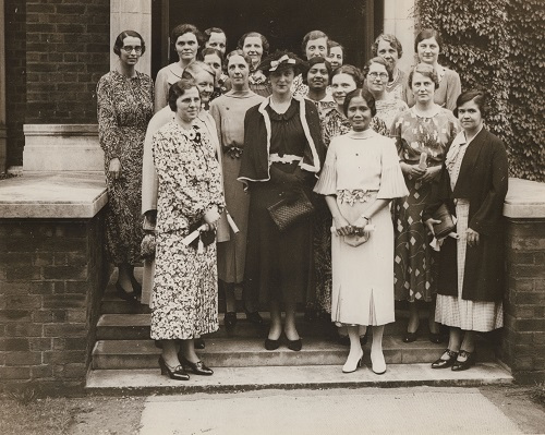 International nursing students with the Duchess of Kent, 1936