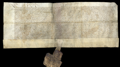 General Pardon granted by King Edward IV to Elizabeth Blenkinsopp (WBC/4).