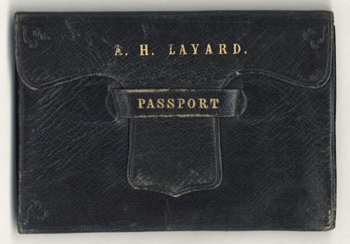 Austen Henry Layard's passport (1) (LAY/1/4/8)