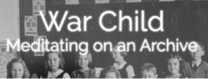 screenshot of War Child site homepage