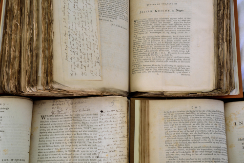 Session Papers, including the trial of Deacon Brodie 1788 and the Joseph Knight slavery trial 1772