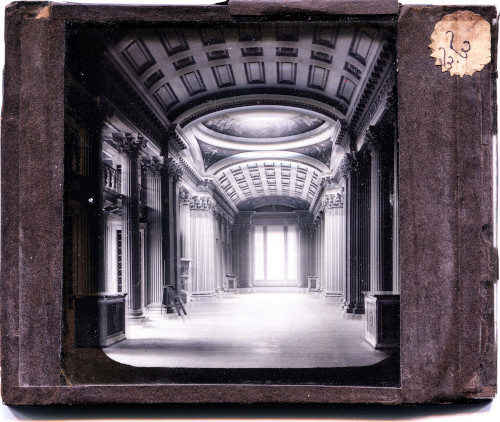 The Signet Library in 1867 - glass slide - George Washingon Wilson.