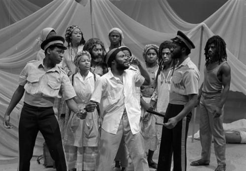 Image of 'O Babylon', Riverside, February 1988, Talawa Theatre Company.